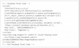 contoh pixel facebook