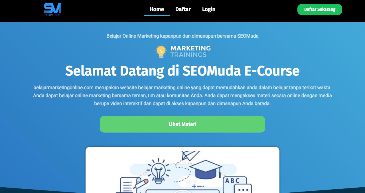 Kelas online digital marketing